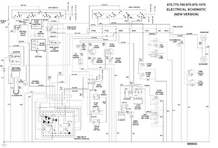 15 jd 4240 tractor electrical wiring diagram  wiring