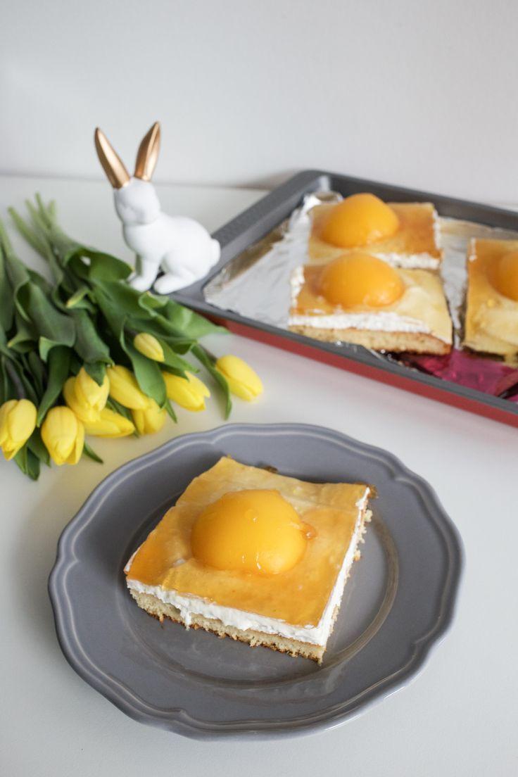 Mein perfekter Osterkuchen: Spiegeleikuchen Rezept zu Ostern | Food