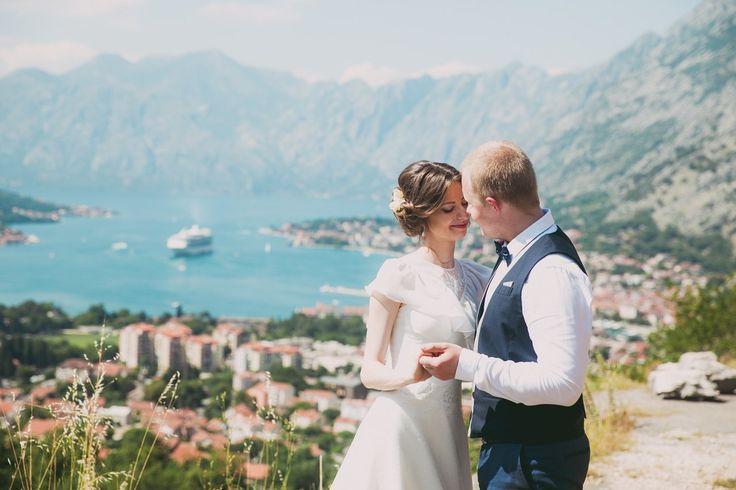 Wedding in Montenegro, Свадьба в Черногории, выездная регистрация на горе Ловчен, высота 1300 метров. Свадьба за границей. Свадьба на море, Свадьба в горах. Lovcen
