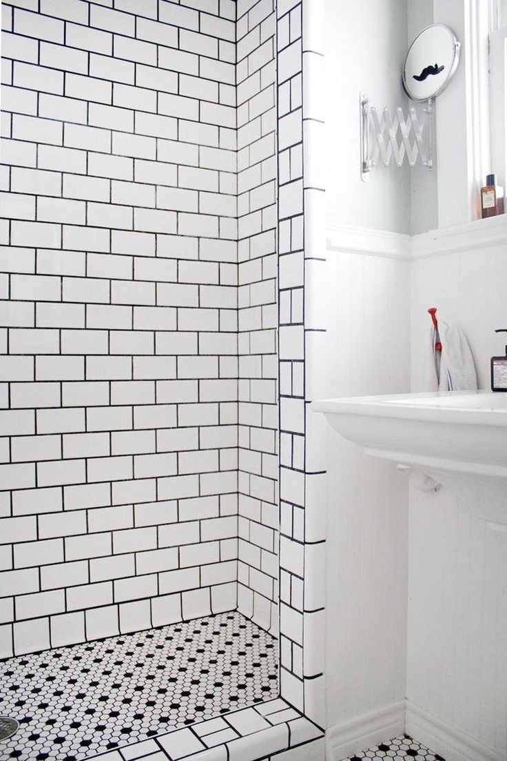 Best 25 white tile shower ideas on pinterest - Nice subway tile bathroom designs with tips ...
