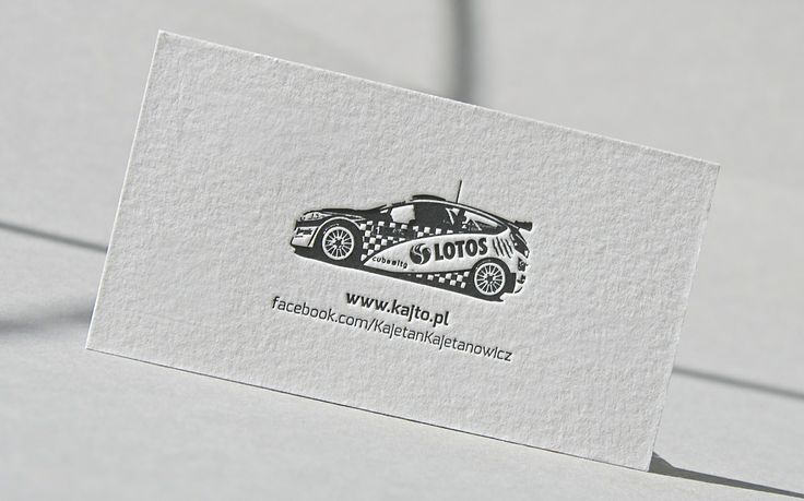 Masters of the field always work with the best in the particular industry. So it is no surprise for us, that fourfold polish rally champion decided to print his brand new, wonderful personal cards in our studio. The most interesting element is the exact vector of his original rally car. Content and engravings are sharp as razor - under magnifier you easily notice name of the tire manufacturer. We are accurate as fractions of a seconds separating the crews at rallys.