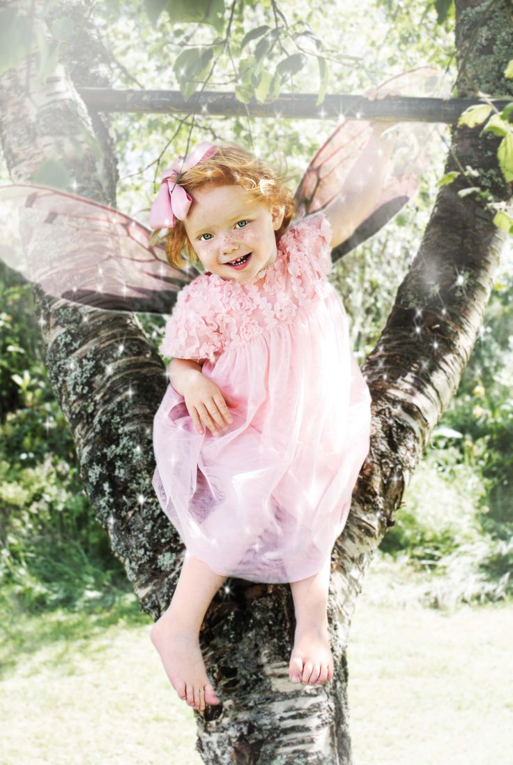 Memini children`s wear by Kristine Vikse, Norwegian design, organic cotton, baby and kids ss2016. mesh dress,  pixie, fairytale, playing in the woods, climbing in trees, prinsessefin