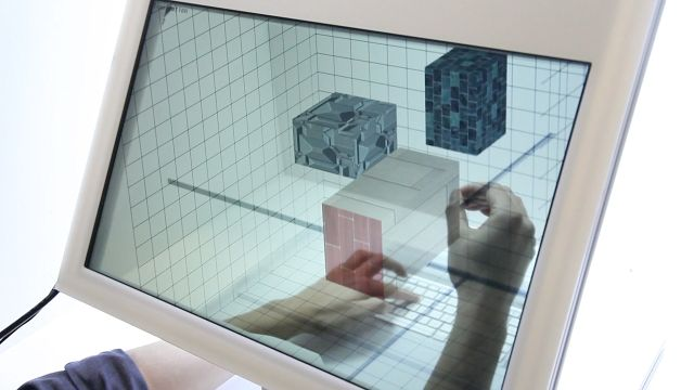 [Looks interesting - but in terms of visual objects and manipulations it seems to fall in the same trap as Oblong] SpaceTop - Jinha Lee MIT Media Lab