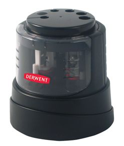 Derwent Desktop Electric Pencil Sharpener (Requires 4 x AA Batteries)