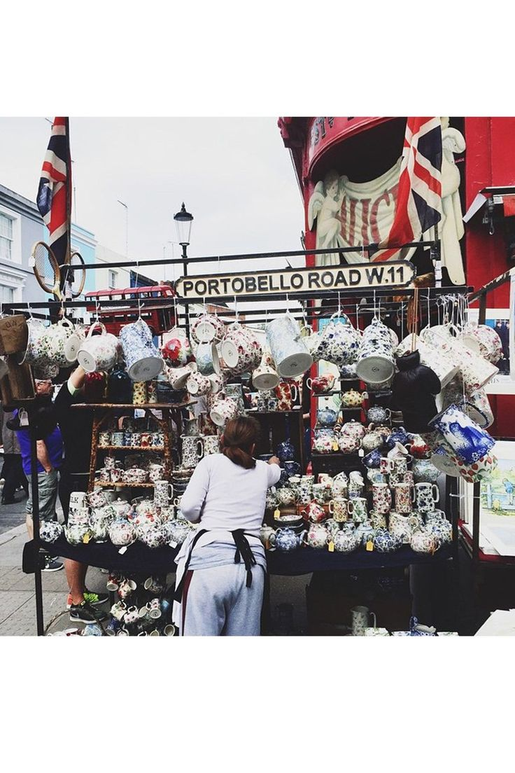 Portobello Market Notting Hill Guide
