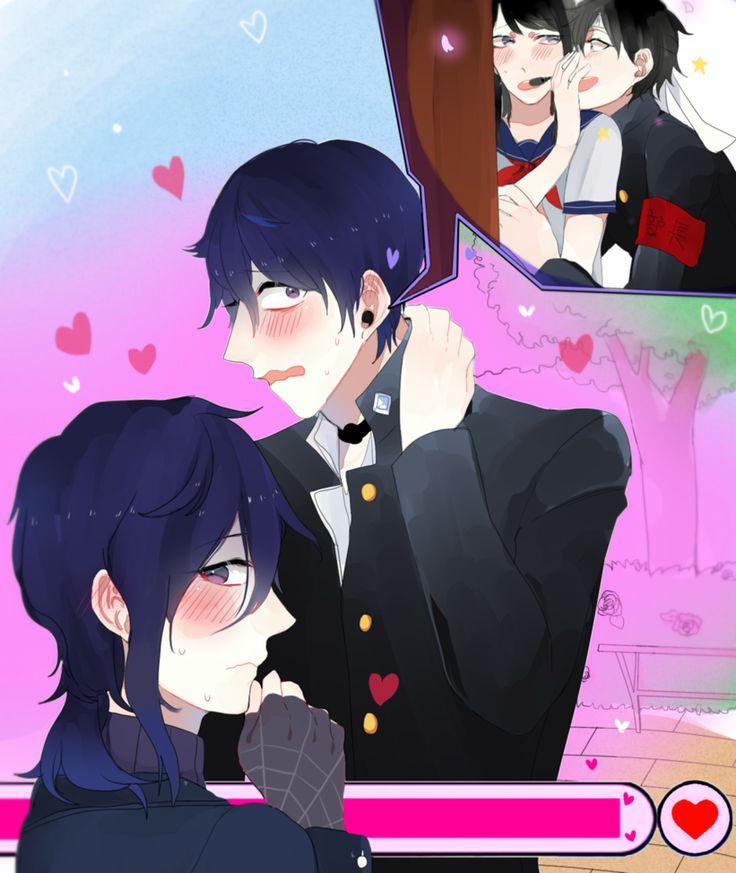 "Matchmaking by KOUMI04 on DeviantArt   Budo:heyhey!Shin!try say""You look sexy""! Ayano:you just shut up,Budo  Shin:....You...look sexy Oka:......(blush)"