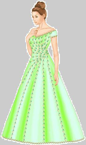 Freebook für ein Abendkleid/Brautkleid Gr. S-XL: http://m-sewing.com/patterns-catalog/women/dresses/wedding-dress-5529.html