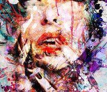 Вдохновляющая картинка искусство, цвет, красочно, нарисованное, рисунок, глаз, глаза, девушка, волосы, вдохновение, губы, живопись, акварель, 2689286 - Размер 540x770px - Найдите картинки на Ваш вкус