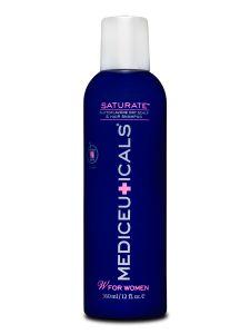 SATURATE™  Phytoflavone shampoo voor droog haar en een droge hoofdhuid. Complex van Triaminocoptinol™ – ondersteunt het verminderen van overmatig haaruitval en stimuleert nieuwe haargroei. PureZero™ complex – SLS-vrij Estolin™ – een natuurlijk anti-androgeen DHT remmend complex. PH vriendelijk, milde reiniging Geschikt voor fijn en/of dunner wordend haar. Biedt bescherming tegen verkleuring van het haar. #LintsenKappers #Lintsen #Mediceuticals