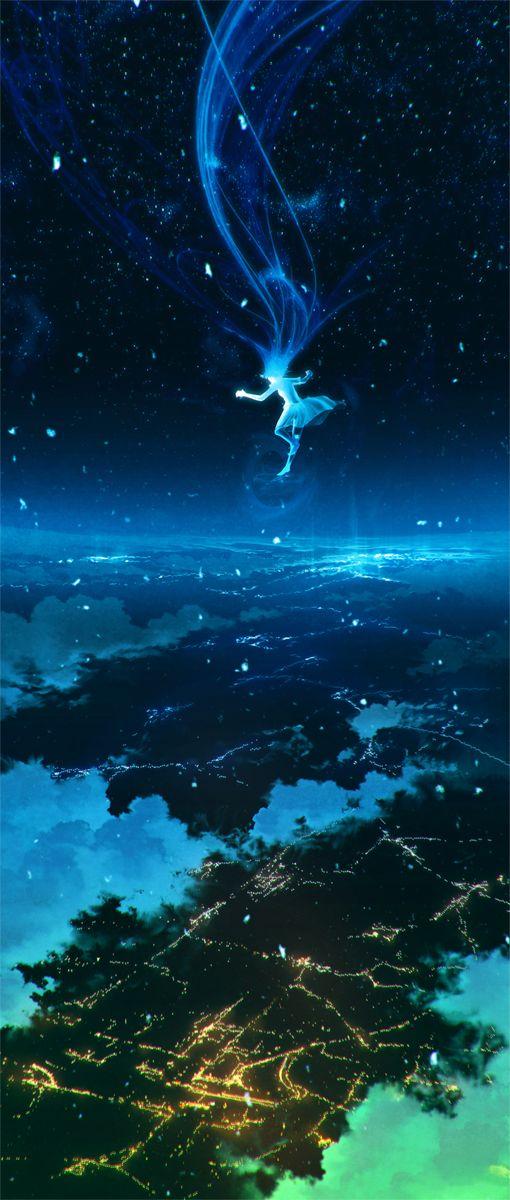 ~Me gusta la magia que tiene la noche, cuando las personas son un poco mas frágiles y sinceras.~