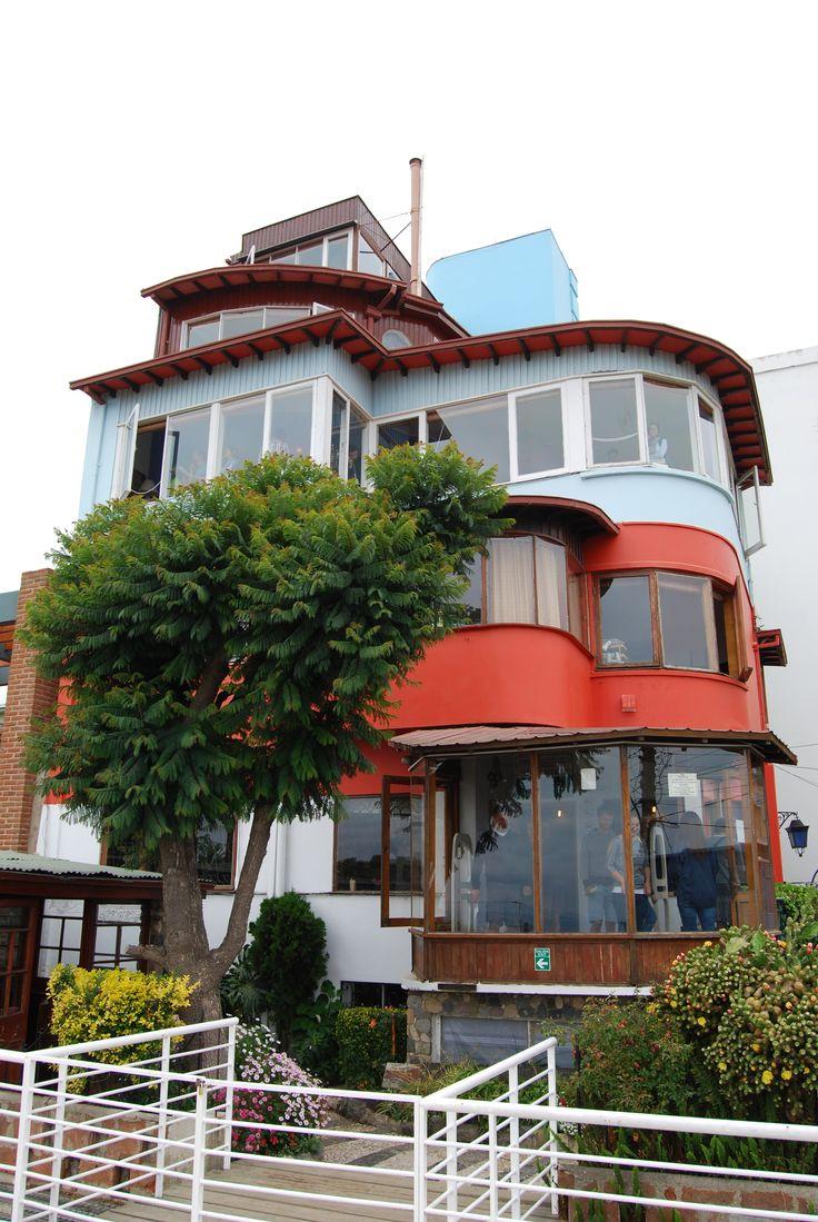 La Sebastiana, casa de Pablo Neruda, Valparaiso