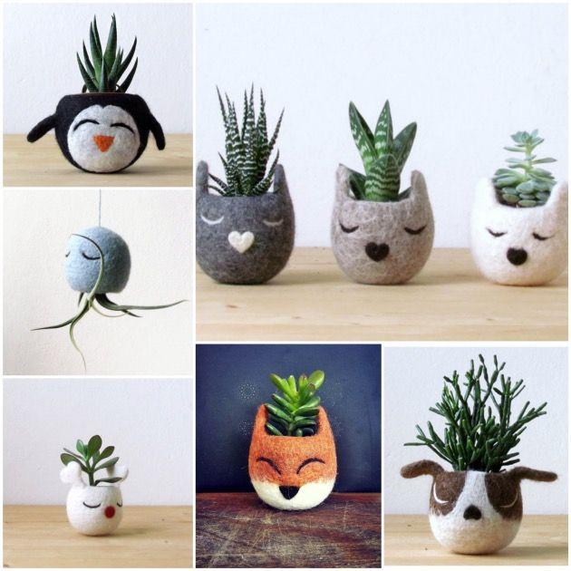 Pot de fleurs animal et jardinière en forme d'animal en céramique