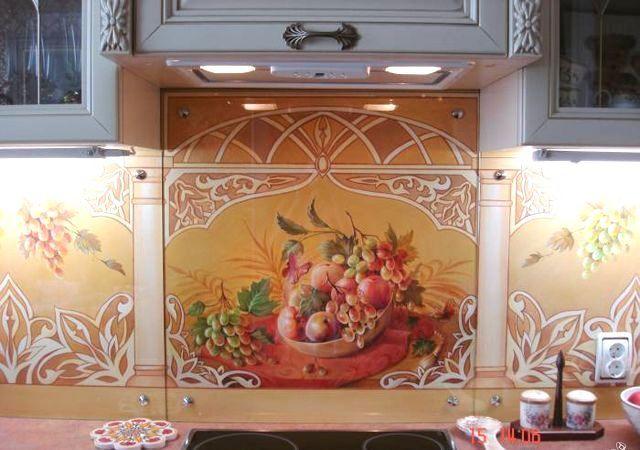 Как выбрать рисунок для росписи стены?