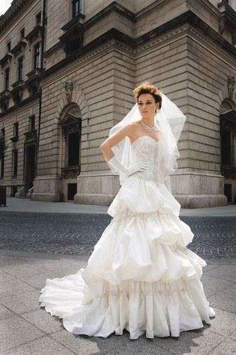 Свадебное платье для девушек невысоких