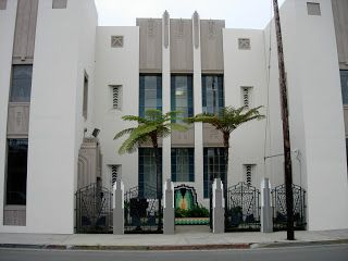 Dear Old Hollywood: Howard Hughes Headquarters. It was from this art deco building located at 7000 Romaine Street that the multi-millionaire playboy, Howard Hughes, ruled his vast empire of businesses.