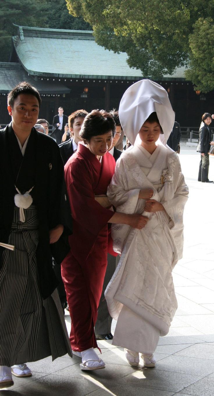 Traditional wedding kimono