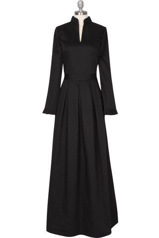 Sophia Gown - Black direct link to the seller inverted pleats on the skiirt, wonderful details... now thats a LBD i can get behind