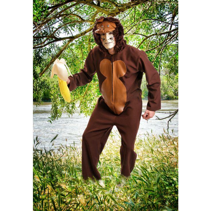 Disfraz de Mono Chimpancé #disfraces #carnaval