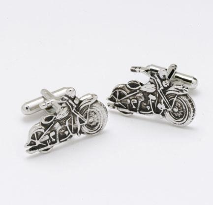 Oryginalne spinki do mankietów ze stali szlachetnej w kształcie motocykli harley pomysł na prezent dla pasjonatów jazdy motocyklem! | NA PREZENT \ Dla mężczyzny ŚLUB \ Stal \ Spinki do mankietów od GESELLE Jubiler