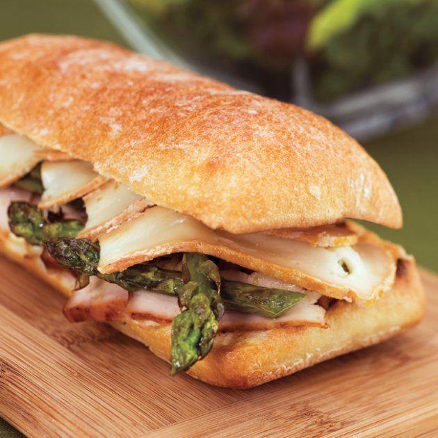 Les 25 meilleures id es de la cat gorie poulet aux asperges sur pinterest repas di t tiques - Idee de sandwich froid ...