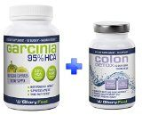 95% HCA Garcinia Cambogia Extract  Colon Detox BUNDLE For Fast Results  Combine 2 Best Sellers  Max Strength Detox Cleanse Pills with Pure Cambogia Extract to Reduce Appetite and Belly Fat