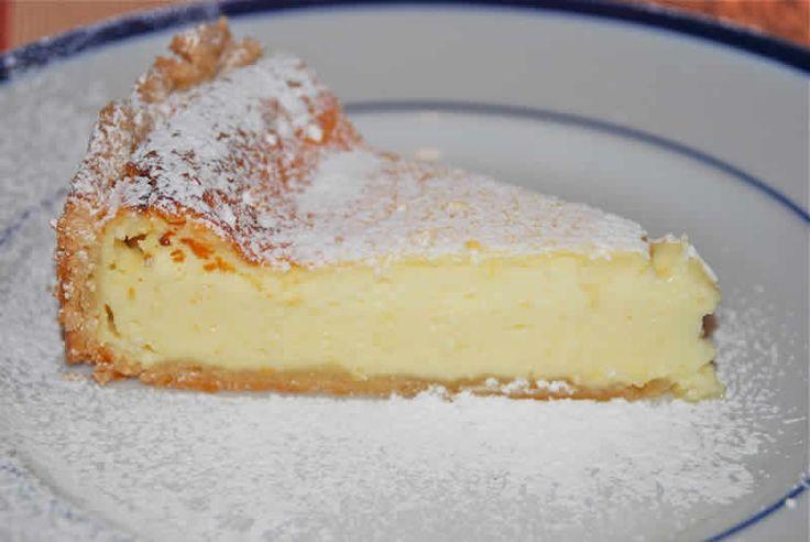 Tarte au fromage blanc d'alsace avec thermomix