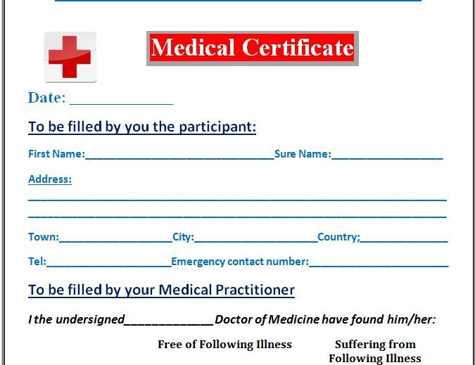 A medical certificate is required for various purposes. It helps attest and confirm the medical condition of a person. It is mostly produced by a doctor or medical professional.