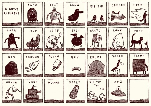 """I think I´ll use this to teach my niece the alphabet. Ok, maybe not, it´s a bit too """"violent-ish"""".... but still: So great!"""
