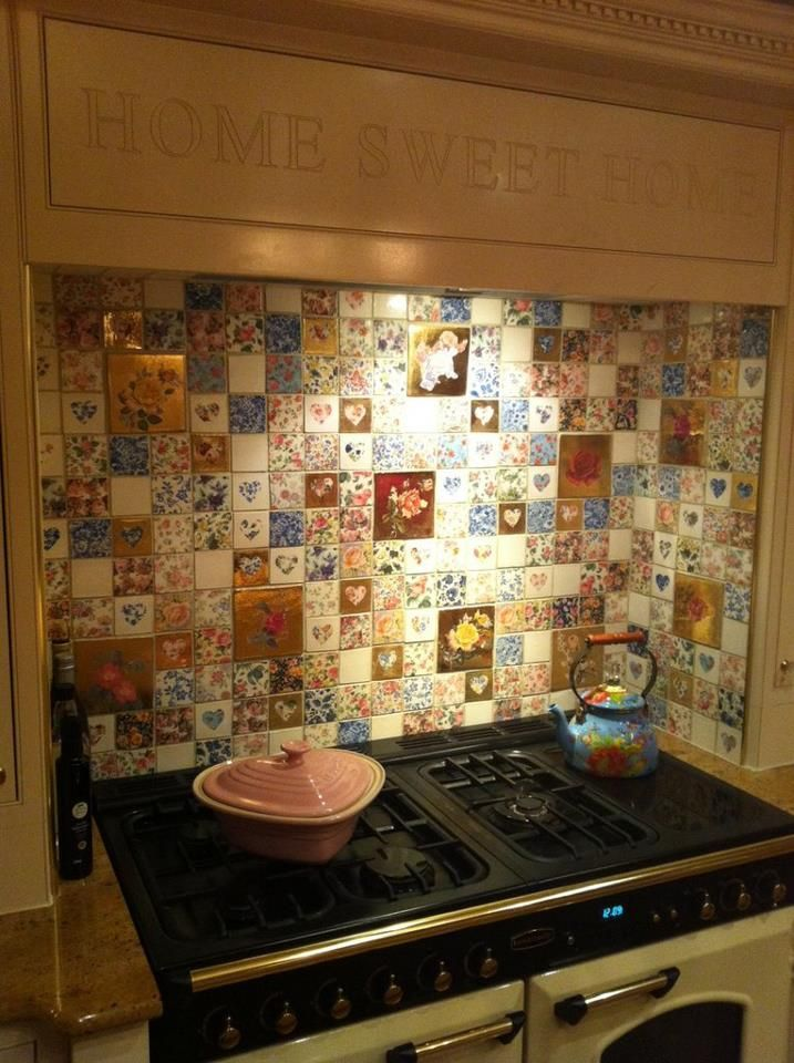 Welbeck Tiles, available from notonthehighstreet.com. Amazing use... I want these everywhere in my house!