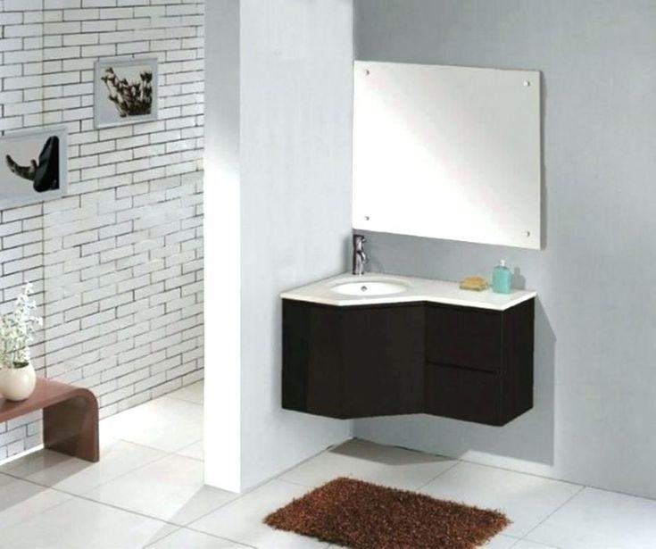 Corner Sink Bathroom, 24 Corner Vanity With Sink