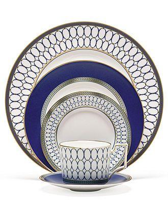 Wedgwood Dinnerware, Renaissance Gold 5 Piece Place Setting - Fine China - Dining & Entertaining - Macy's