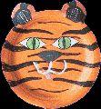 www.jufjanneke.nl | Masker tijger
