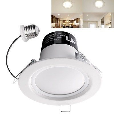 Retrofit 11W 4-inch Dimmable E26 LED Recessed Ceiling Light Fixture Downlight