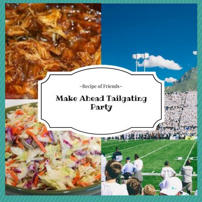 Make Ahead Tailgating Party - Recipe of Friends #Foodie #foodblogger #Recipes #Tailgating #Football #NFL (scheduled via http://www.tailwindapp.com?utm_source=pinterest&utm_medium=twpin&utm_content=post105564199&utm_campaign=scheduler_attribution)