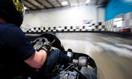 Weekday Race Sessions for One or Two at Umigo Indoor Go-Kart Racing (Up to 45% Off)