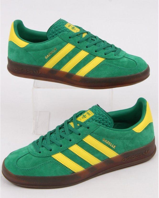 Adidas Gazelle Indoor Trainers Green