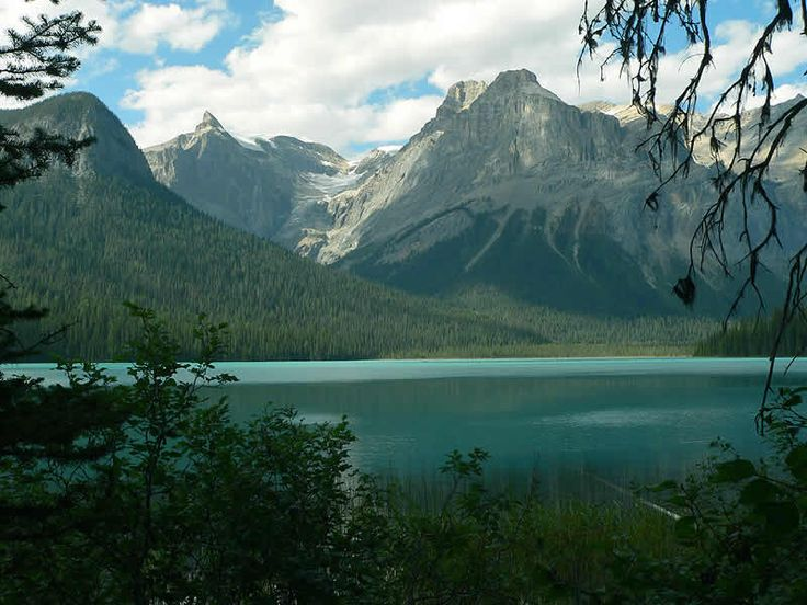 Emerald Lake in Yoho National Park, BC