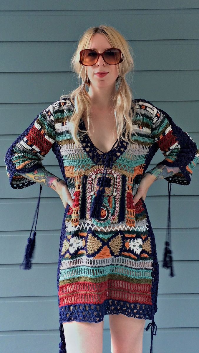 CLEOBELLA <br> Sybilla Crochet Dress - product images  of