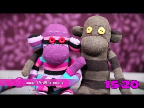 Tutorial: Paso a paso para hacer un changuito de peluche con un calcetín - YouTube