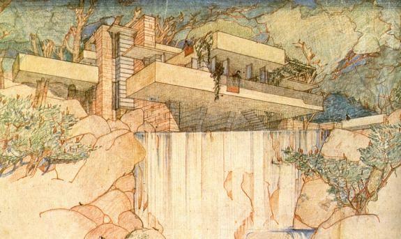 Kaufmann House 1936 / Frank Lloyd Wright                                                                                                                                                                                 More