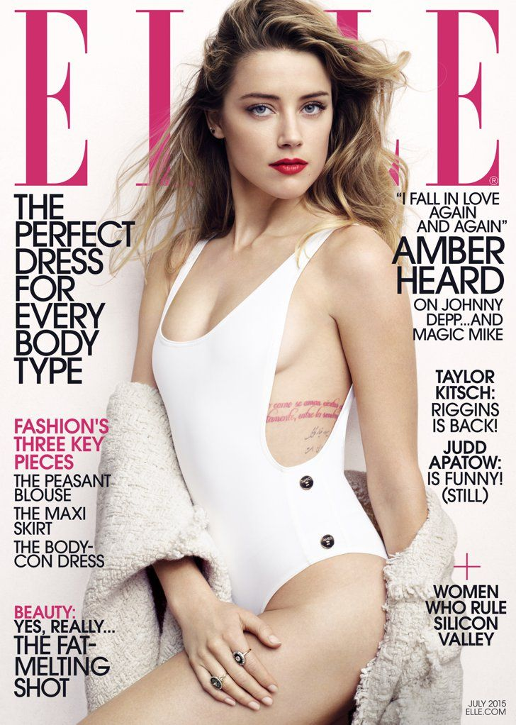 Pin for Later: Amber Heard Finally Dishes on What It's Like Being Married to Johnny Depp