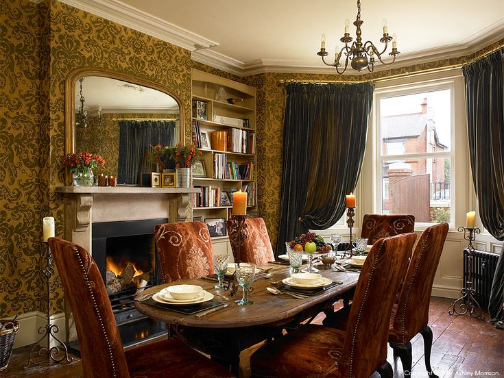 The Dining Room In Diane Kieran Rices Edwardian Detached House Belfast