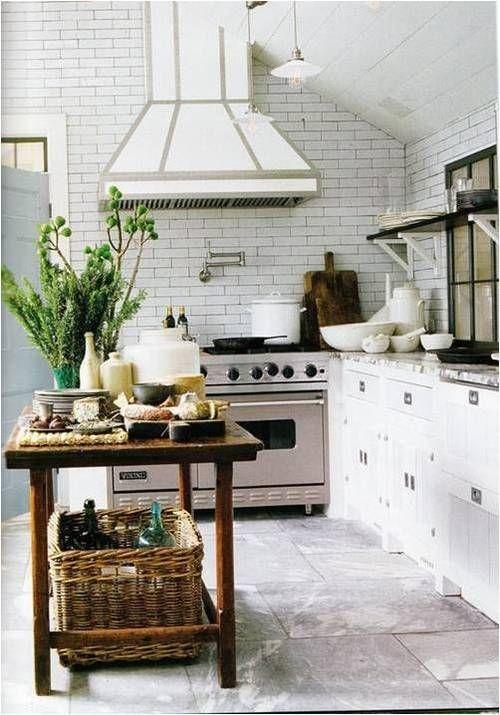 Steven Gambrel ~ his kitchen