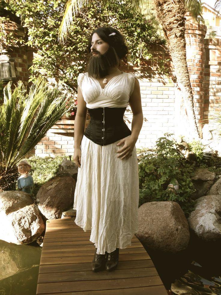 bearded lady outfits | Feel Pretty.: Barbara Pelona. The bearded lady.