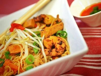 Hawker-Style Singapore Noodles recipe