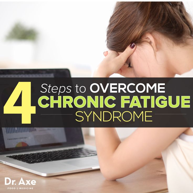 4 Steps to Overcome Chronic Fatigue Syndrome http://www.draxe.com #health #holistic #natural