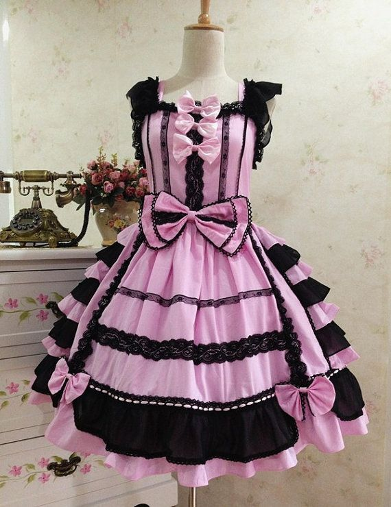sweet lolita dress  kawaii dress  Gothic Lolita by kawaiishop777