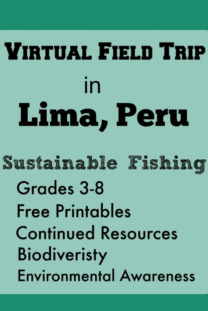 Virtual field trips in lima peru sustainable fishing for Sustainable fishing definition
