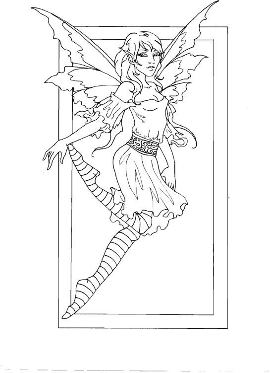 amy brown coloring pages free - photo#9