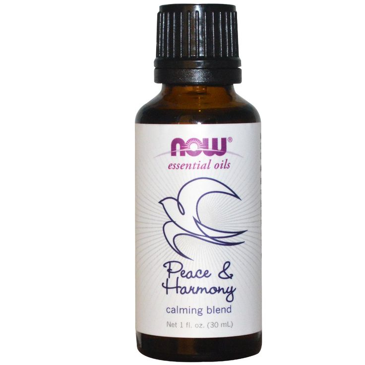 Now Foods, Essential Oils, Calming Blend, Peace & Harmony, 1 fl oz (30 ml) - iHerb.com
